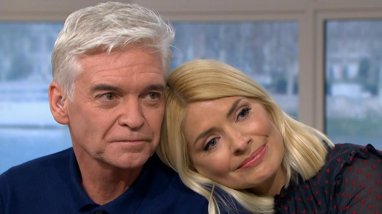 Phillip Schofield bravely says he is gay